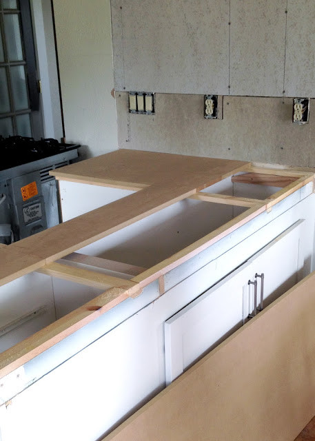 Best ideas about DIY Wooden Countertops . Save or Pin DIY Reclaimed Wood Countertop Now.