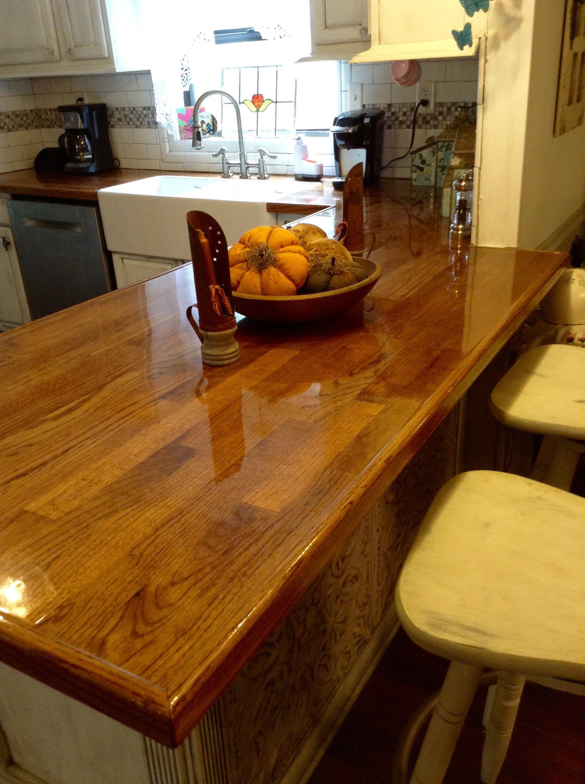 Best ideas about DIY Wooden Countertops . Save or Pin Remodelaholic Now.