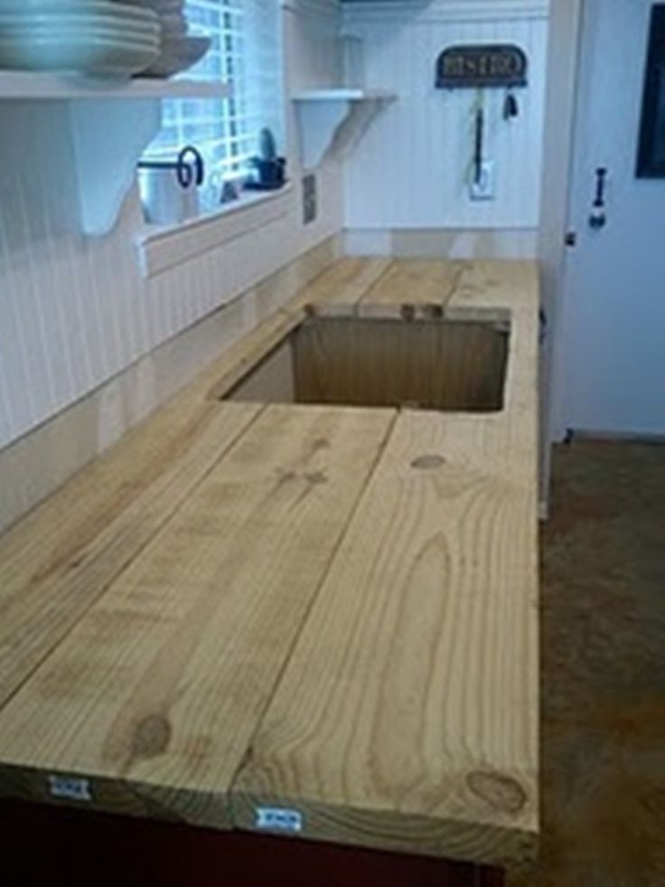 Best ideas about DIY Wooden Countertops . Save or Pin build your own rustic countertop Now.