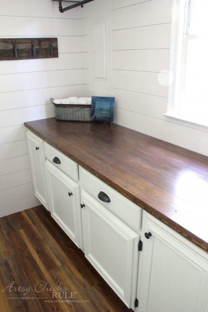 Best ideas about DIY Wooden Countertops . Save or Pin How To Make A DIY Wood Countertop easier than you thought Now.