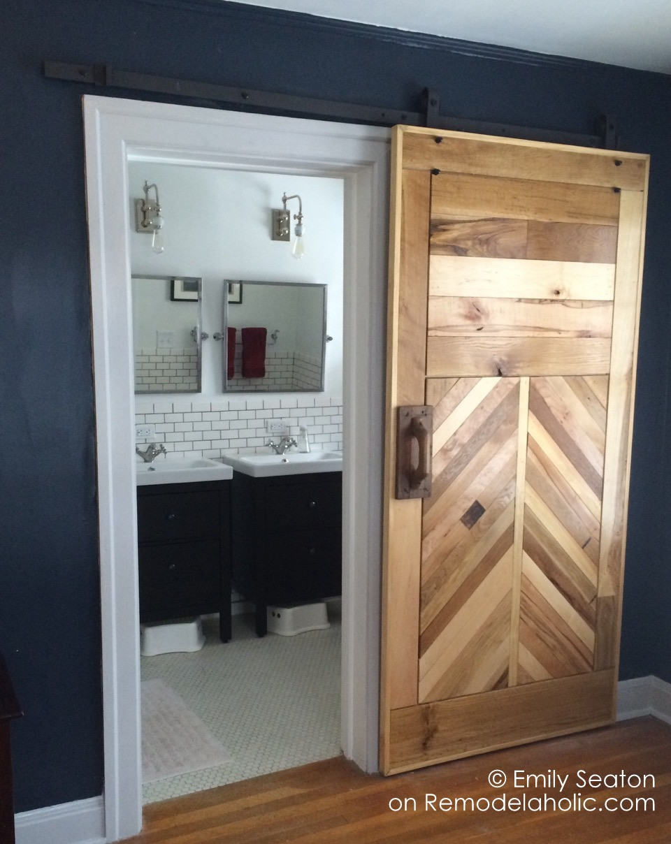 Best ideas about DIY Wooden Doors . Save or Pin Remodelaholic Now.