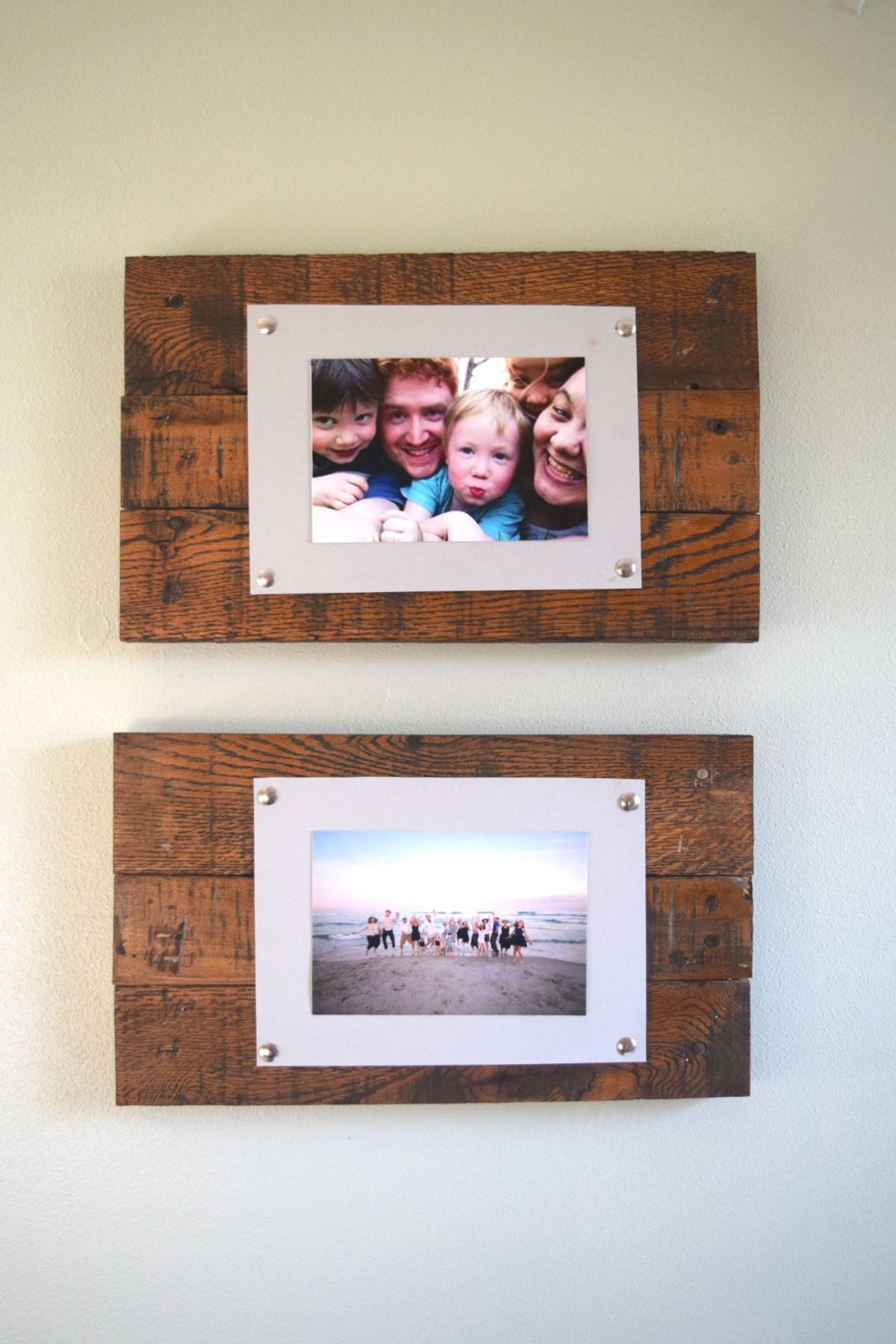 Best ideas about DIY Wooden Frames . Save or Pin DIY Rustic Scrap Wood Picture Frames Spotlight Favorite s Now.