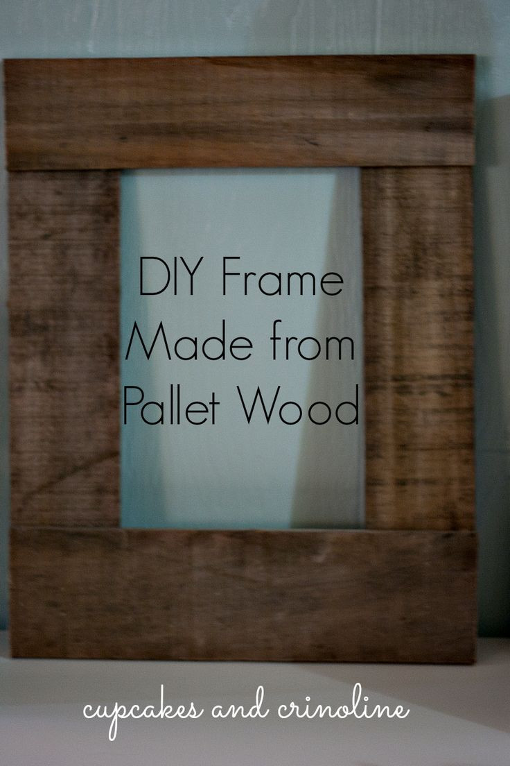 Best ideas about DIY Wooden Frames . Save or Pin Best 25 Pallet frames ideas on Pinterest Now.