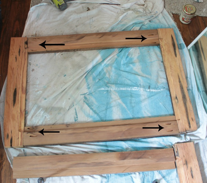 Best ideas about DIY Wooden Frames . Save or Pin upcycling idea DIY reclaimed wood framed mirrors Now.