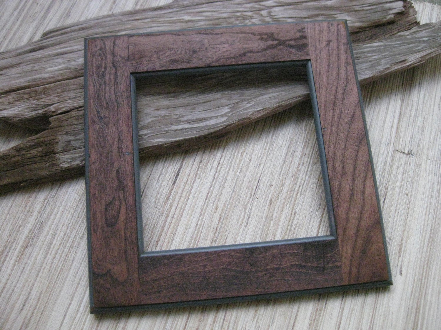Best ideas about DIY Wooden Frames . Save or Pin Rustic Cherry Wood Frame Reclaimed Cabinet Door Frame DIY Now.