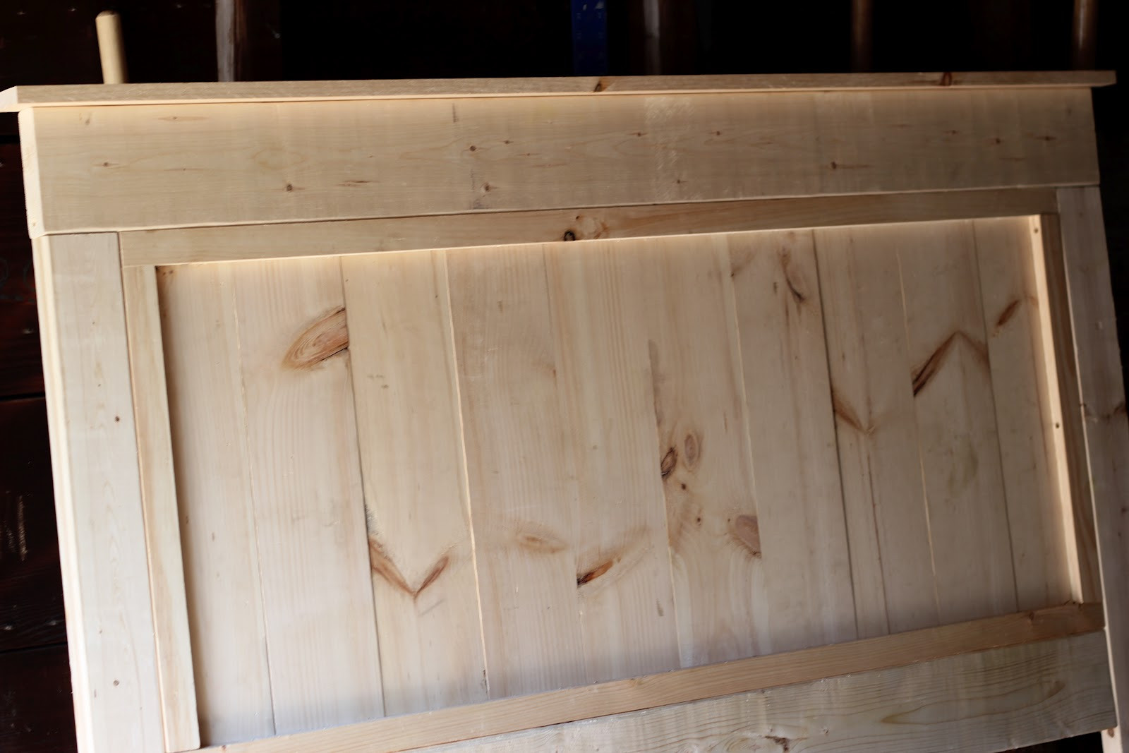 Best ideas about DIY Wooden Ideas . Save or Pin Jenny Steffens Hobick We built a bed DIY Wooden Headboard Now.