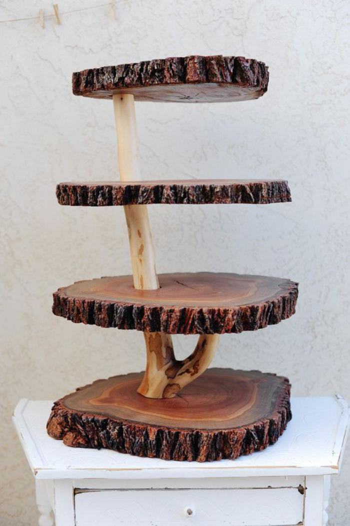 Best ideas about DIY Wooden Ideas . Save or Pin 30 DIY Rustic Decor Ideas using Logs Now.