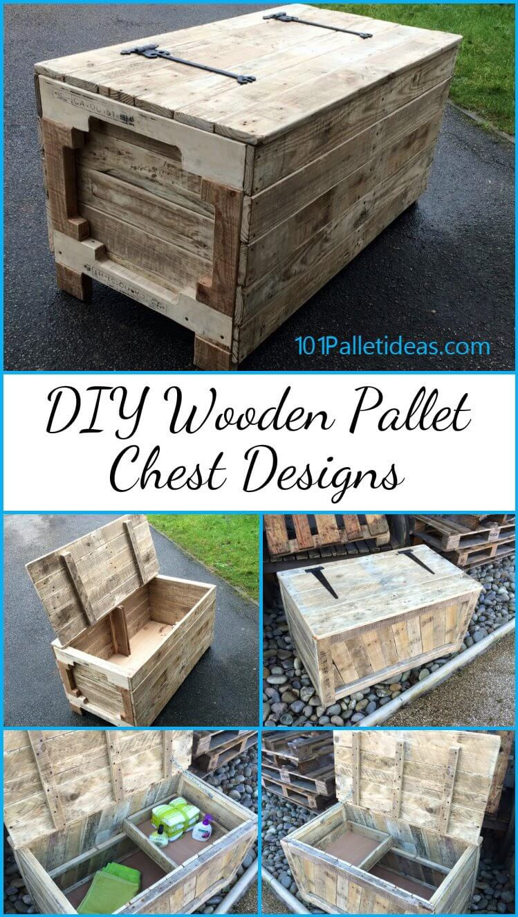 Best ideas about DIY Wooden Ideas . Save or Pin DIY Wooden Pallet Chest Designs Easy Pallet Ideas Now.