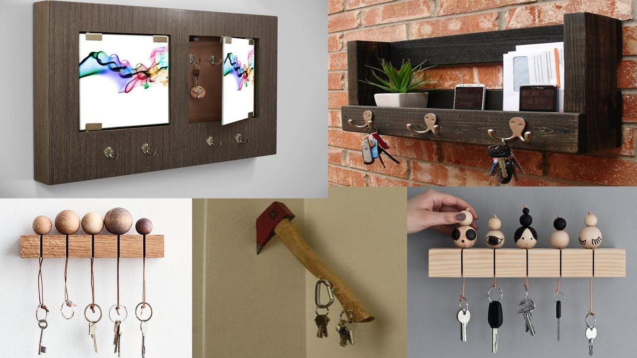 Best ideas about DIY Wooden Ideas . Save or Pin DIY Wooden Key Holder for Wall Ideas Diy Home Decor Now.