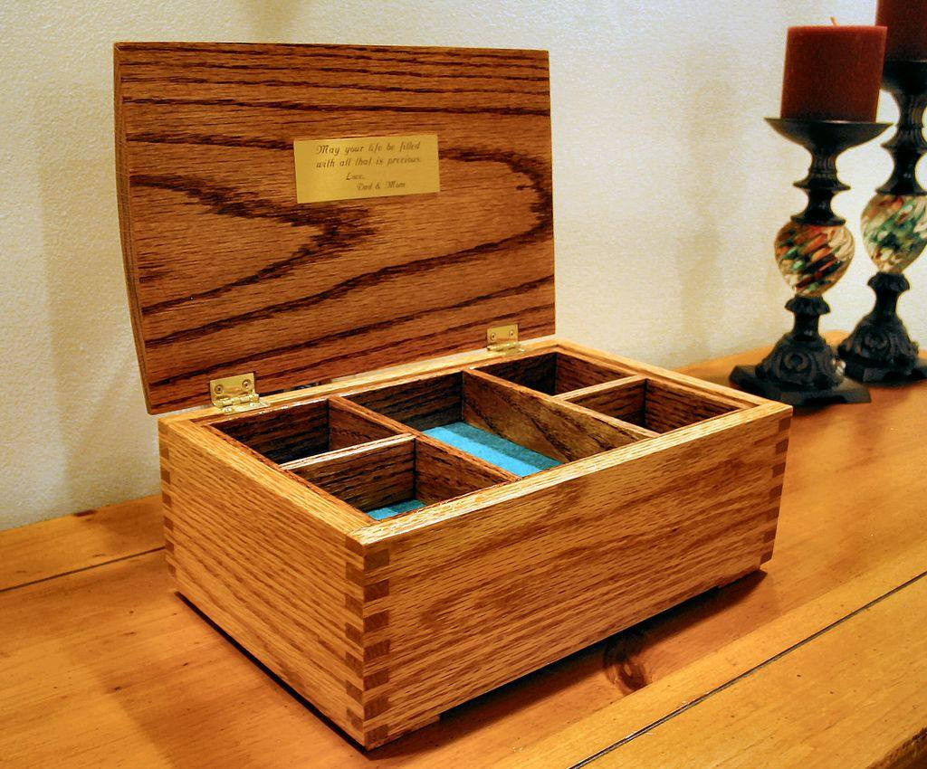 Best ideas about DIY Wooden Jewellery Box . Save or Pin 9 Free DIY Jewelry Box Plans Now.