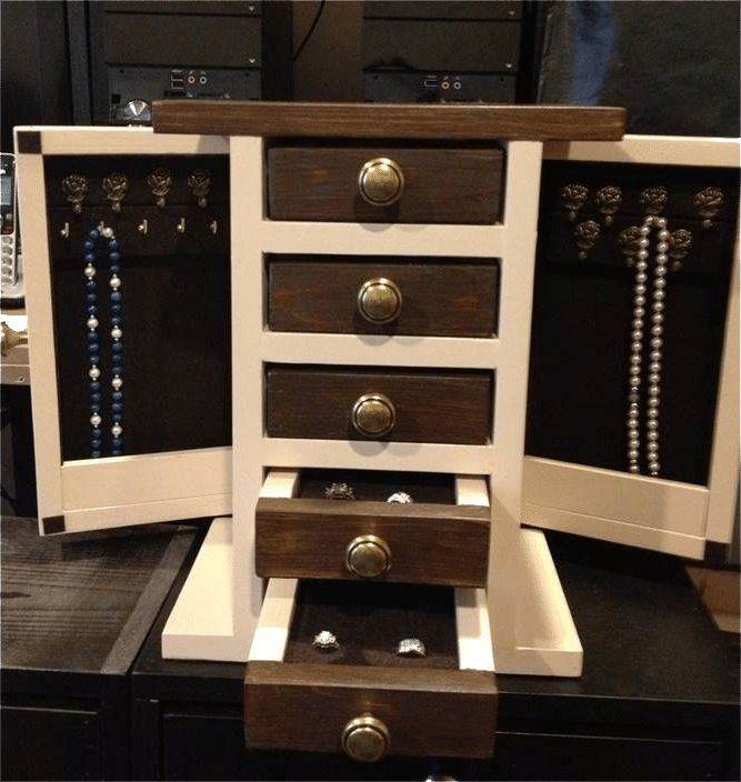 Best ideas about DIY Wooden Jewellery Box . Save or Pin Best 25 Diy Jewelry Box ideas on Pinterest Now.