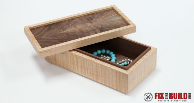 Best ideas about DIY Wooden Jewellery Box . Save or Pin How to Make a Simple Wooden Jewelry Box FREE Plans Now.