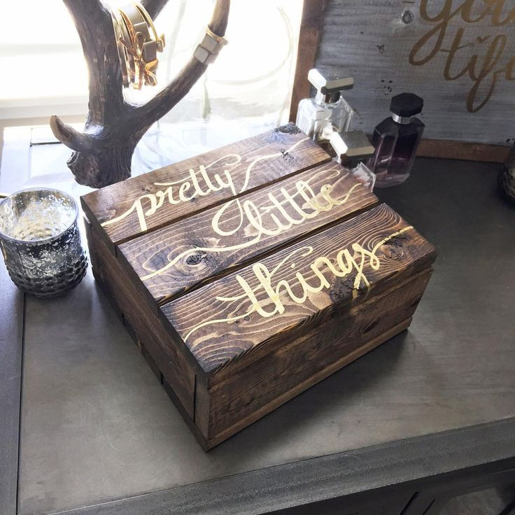 Best ideas about DIY Wooden Jewellery Box . Save or Pin Best 25 Diy wooden jewelry box ideas on Pinterest Now.