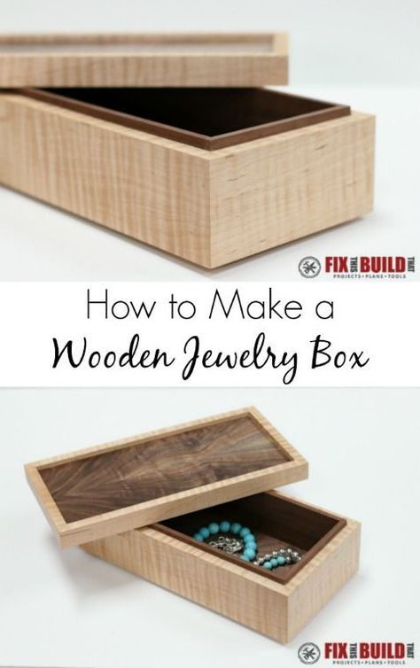 Best ideas about DIY Wooden Jewellery Box . Save or Pin 25 best ideas about Wooden jewelry boxes on Pinterest Now.