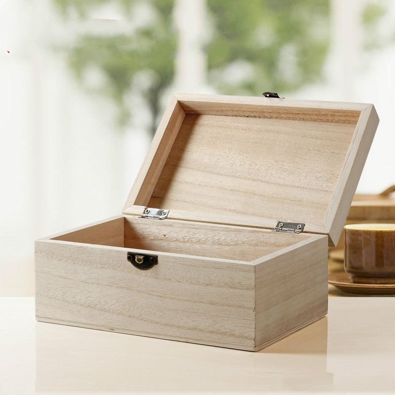 Best ideas about DIY Wooden Jewellery Box . Save or Pin 2pcs lot Wholesale Popular Wood Jewelry Box Art Decor Now.
