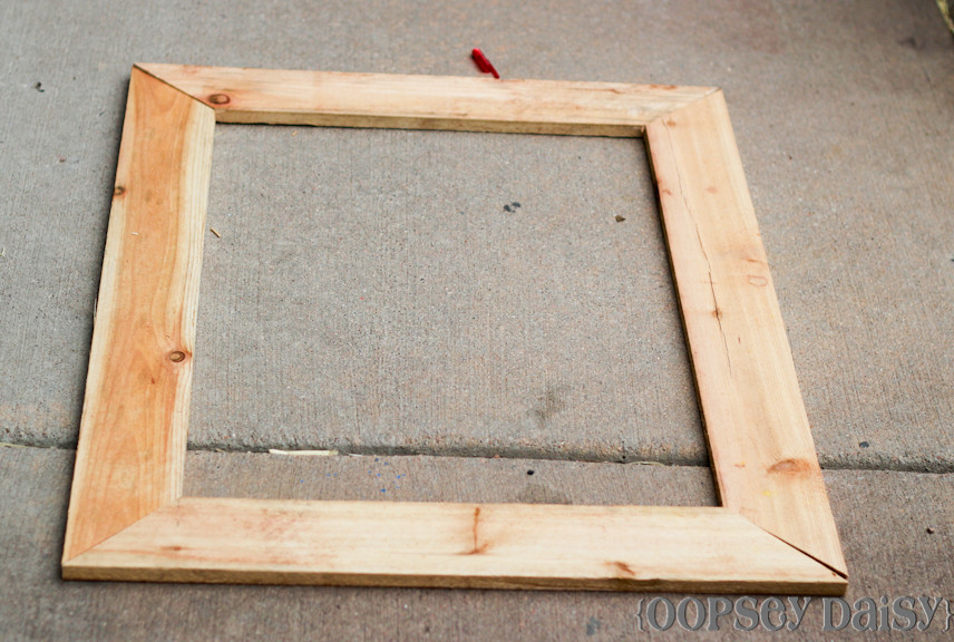 Best ideas about DIY Wooden Picture Frames . Save or Pin DIY Chicken Wire Frame Birthday Style Now.