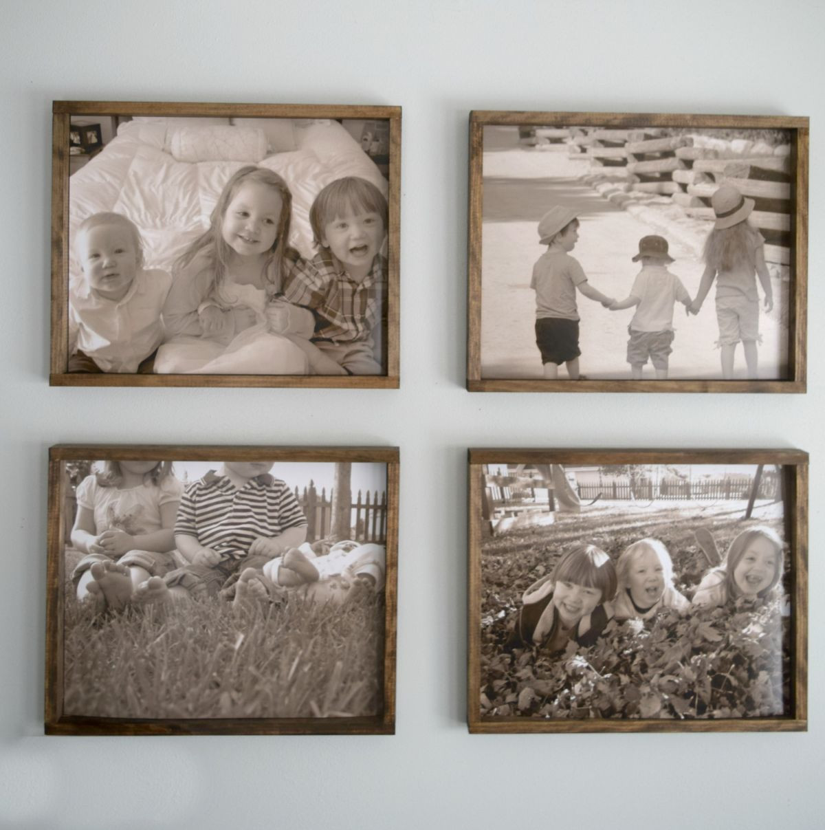 Best ideas about DIY Wooden Picture Frames . Save or Pin DIY Rustic Wood Frame Making Into Memories Now.