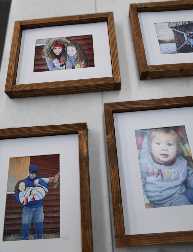 Best ideas about DIY Wooden Picture Frames . Save or Pin Ana White Now.