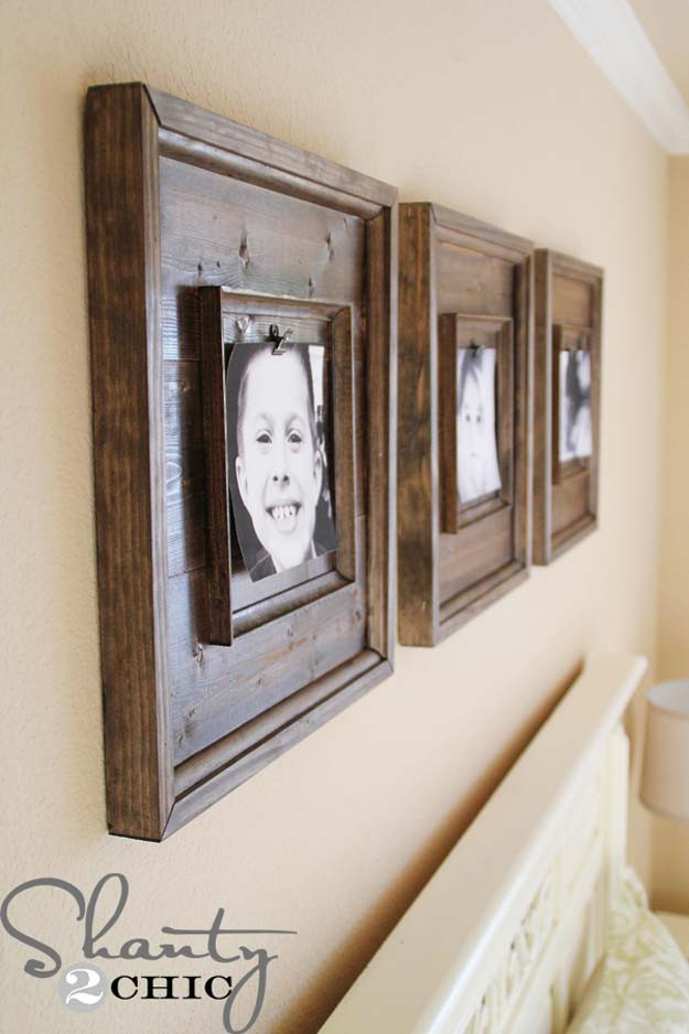 Best ideas about DIY Wooden Picture Frames . Save or Pin 31 Cool and Crafty DIY Picture Frames DIY Projects for Teens Now.