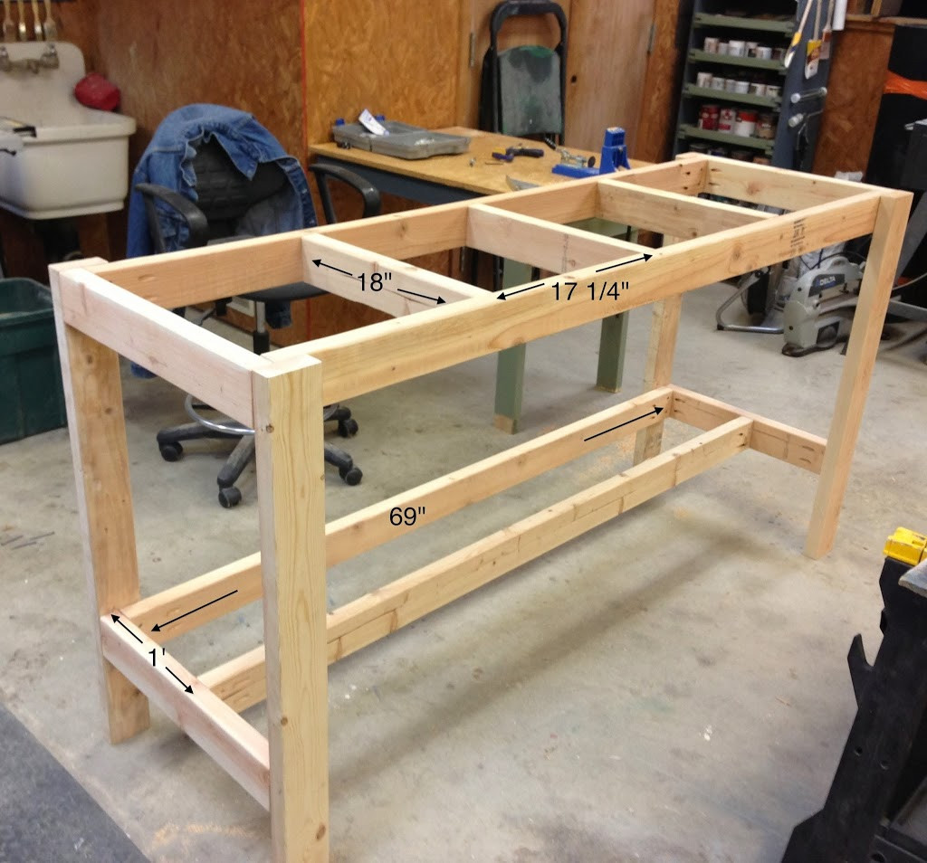 Best ideas about DIY Work Bench Plans . Save or Pin DIY Workbench Wilker Do s Now.