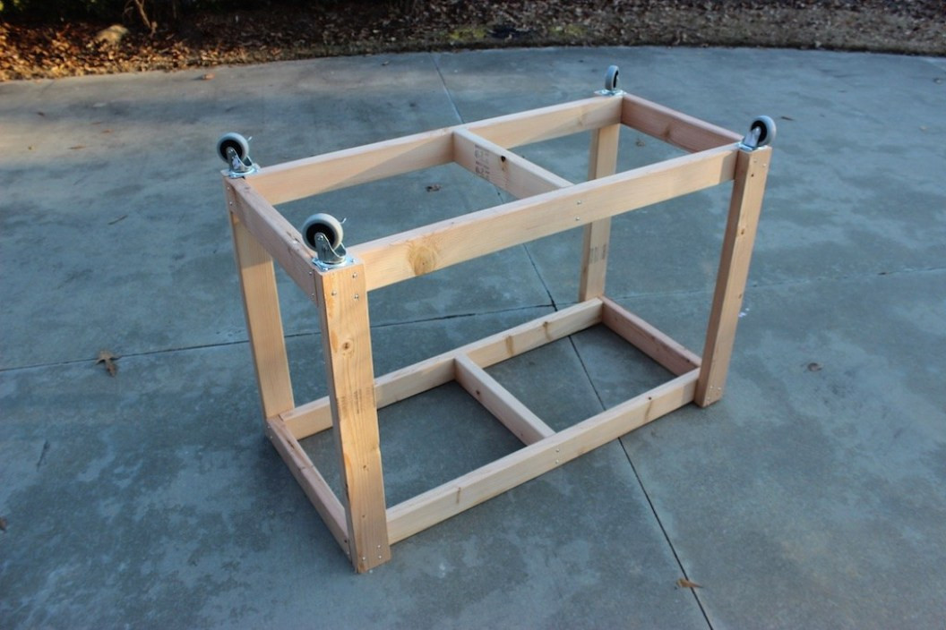 Best ideas about DIY Work Bench Plans . Save or Pin Easy Portable Workbench Plans Rogue Engineer Now.