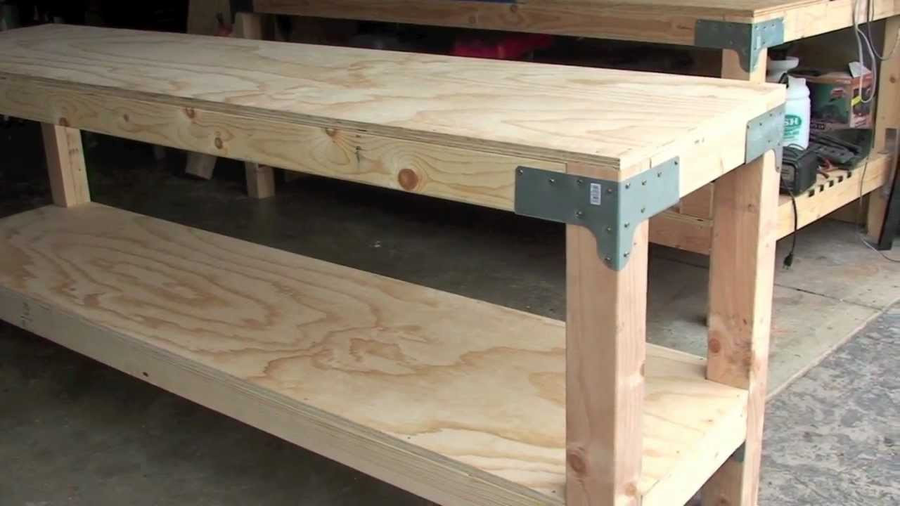 """Best ideas about DIY Work Bench Plans . Save or Pin Work Bench $80 00 24"""" x 96"""" 36"""" tall J Black Now."""