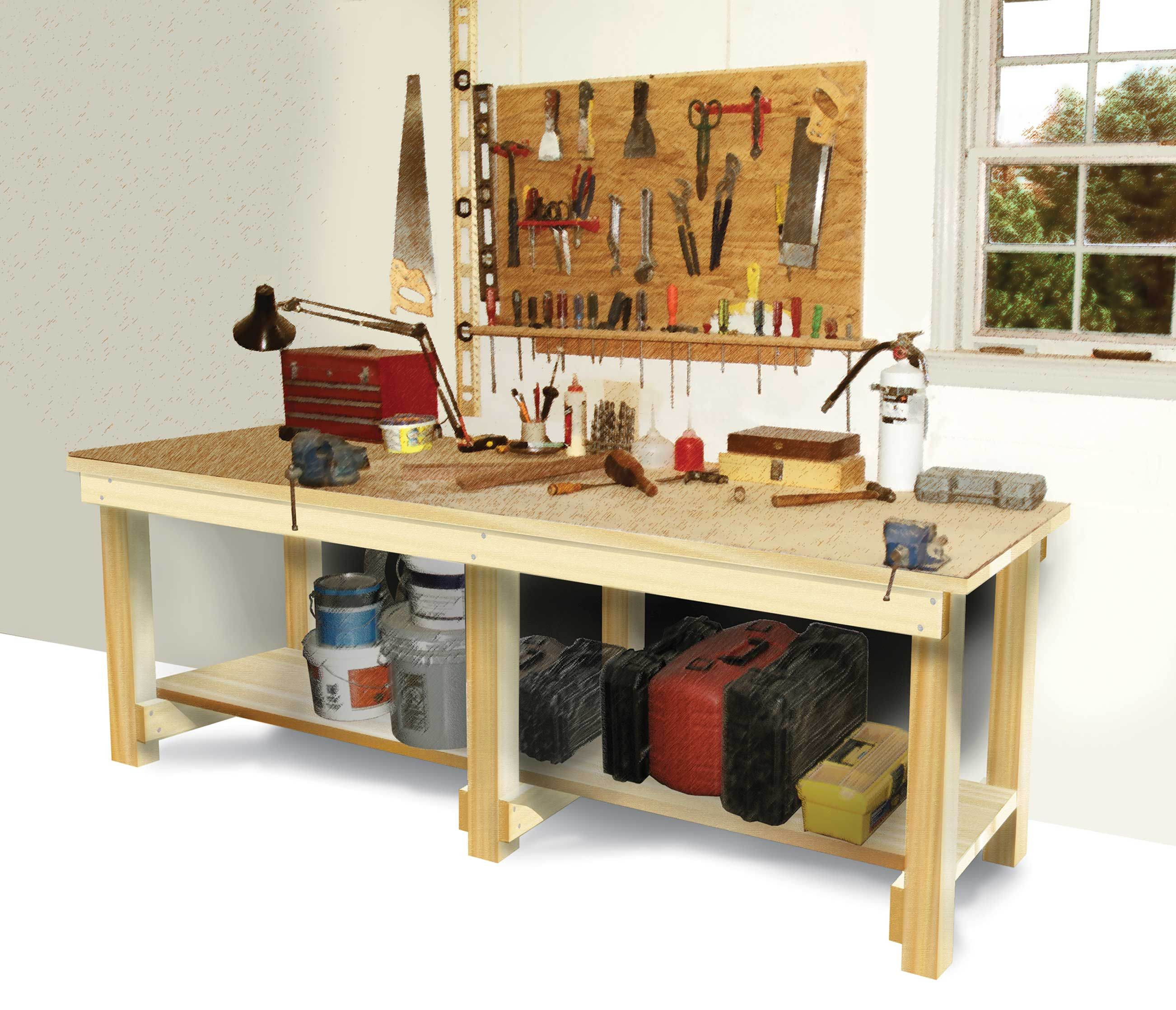 Best ideas about DIY Work Bench Plans . Save or Pin How to Build a Workbench DIY Now.