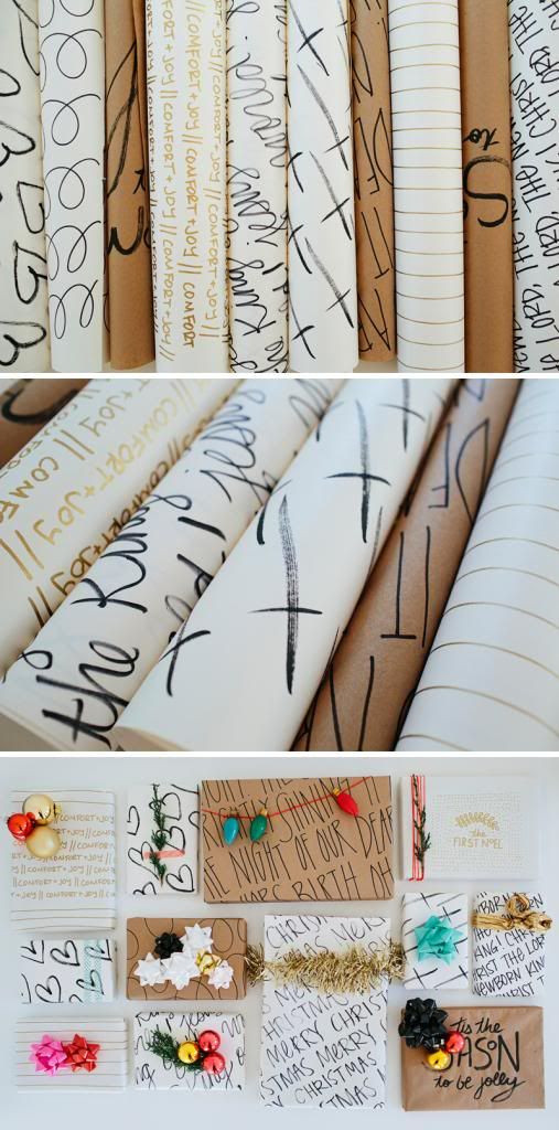 Best ideas about DIY Wrapping Paper . Save or Pin Inspirational Wrapping Paper – walk in love Now.
