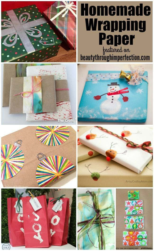 Best ideas about DIY Wrapping Paper . Save or Pin 78 best images about Gift Wrap Ideas on Pinterest Now.