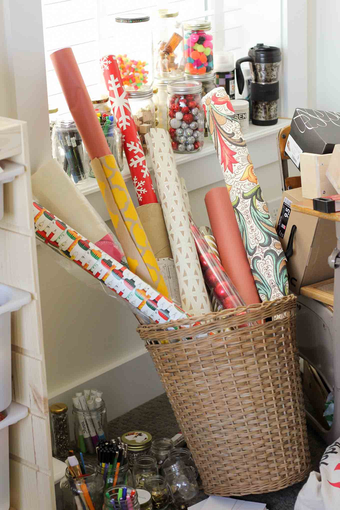 Best ideas about DIY Wrapping Paper . Save or Pin DIY Vertical Wrapping Paper Storage Idea Ikea Hack Now.