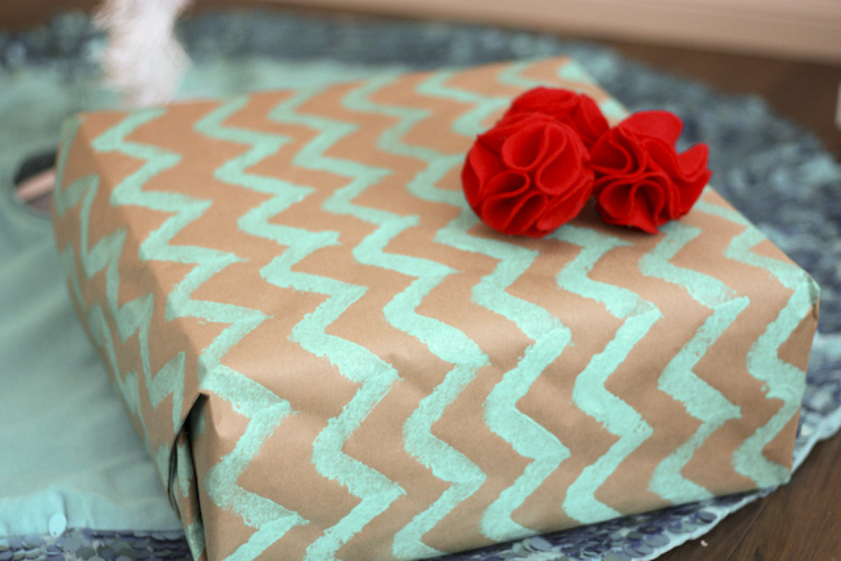 Best ideas about DIY Wrapping Paper . Save or Pin Homemade Gift Ideas Typographic Wrapping Paper Now.