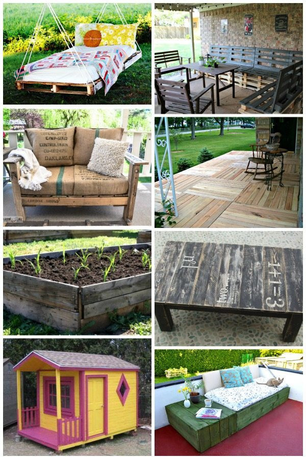 Best ideas about DIY Yard Projects . Save or Pin 15 DIY Backyard Pallet Projects with Step by Step Now.