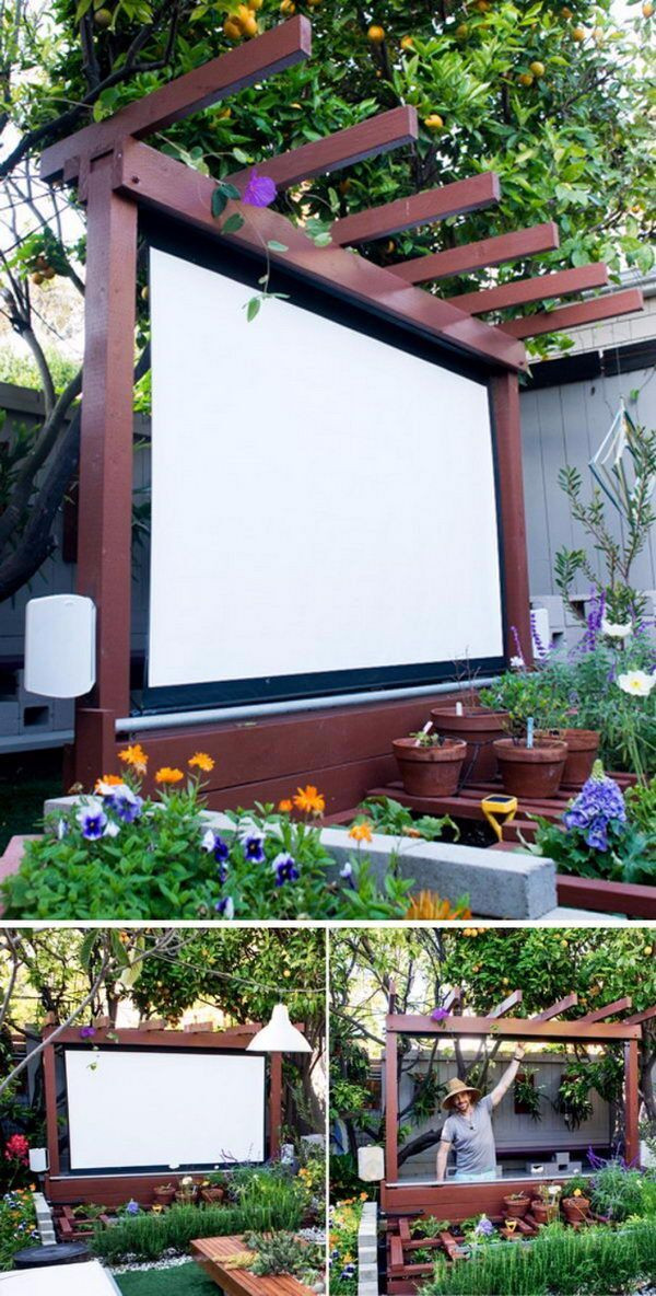 Best ideas about DIY Yard Projects . Save or Pin 20 Awesome DIY Backyard Projects Hative Now.