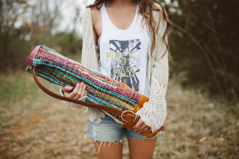 Best ideas about DIY Yoga Mat . Save or Pin Sincerely Kinsey Yoga Mat Bag DIY Now.