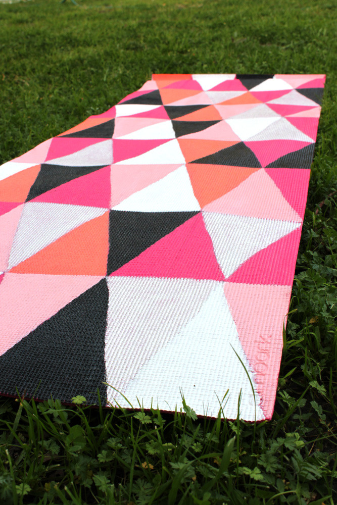 Best ideas about DIY Yoga Mat . Save or Pin DIY Painted Yoga Mat How To thesassylife Now.