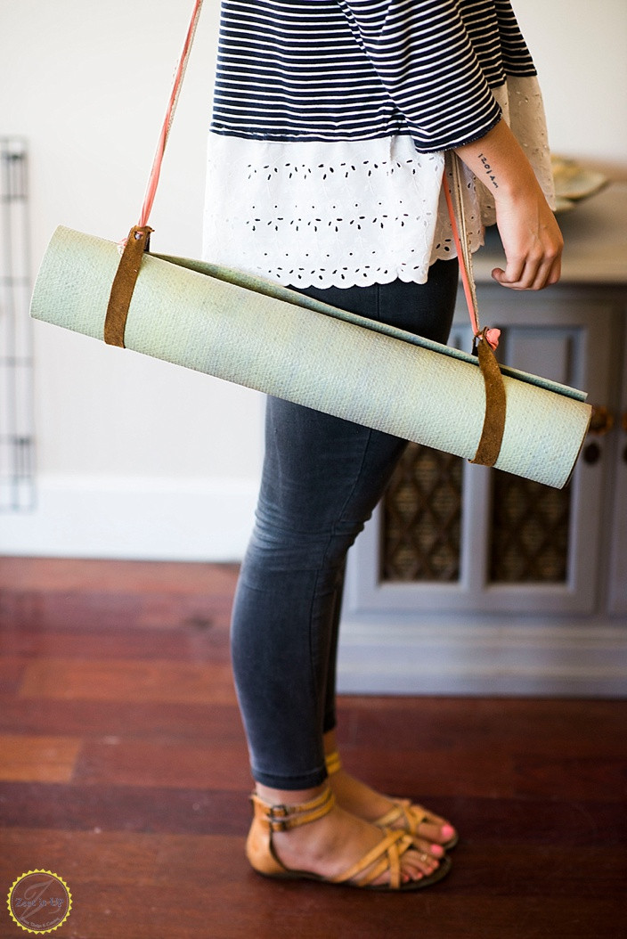 Best ideas about DIY Yoga Mat . Save or Pin DIY Yoga Mat Holder Now.