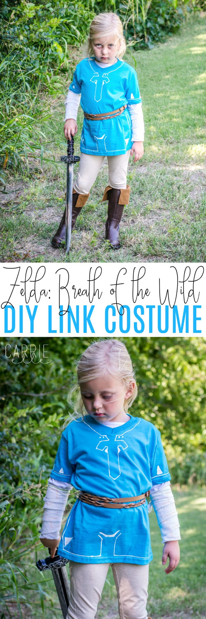 Best ideas about DIY Zelda Costume . Save or Pin DIY Link Costume Breath of the Wild Carrie Elle Now.