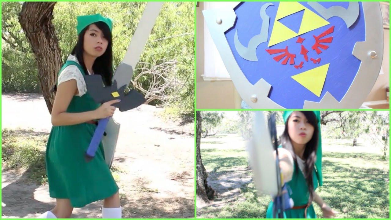 Best ideas about DIY Zelda Costume . Save or Pin DIY Halloween Costume Legend of Zelda Link Now.