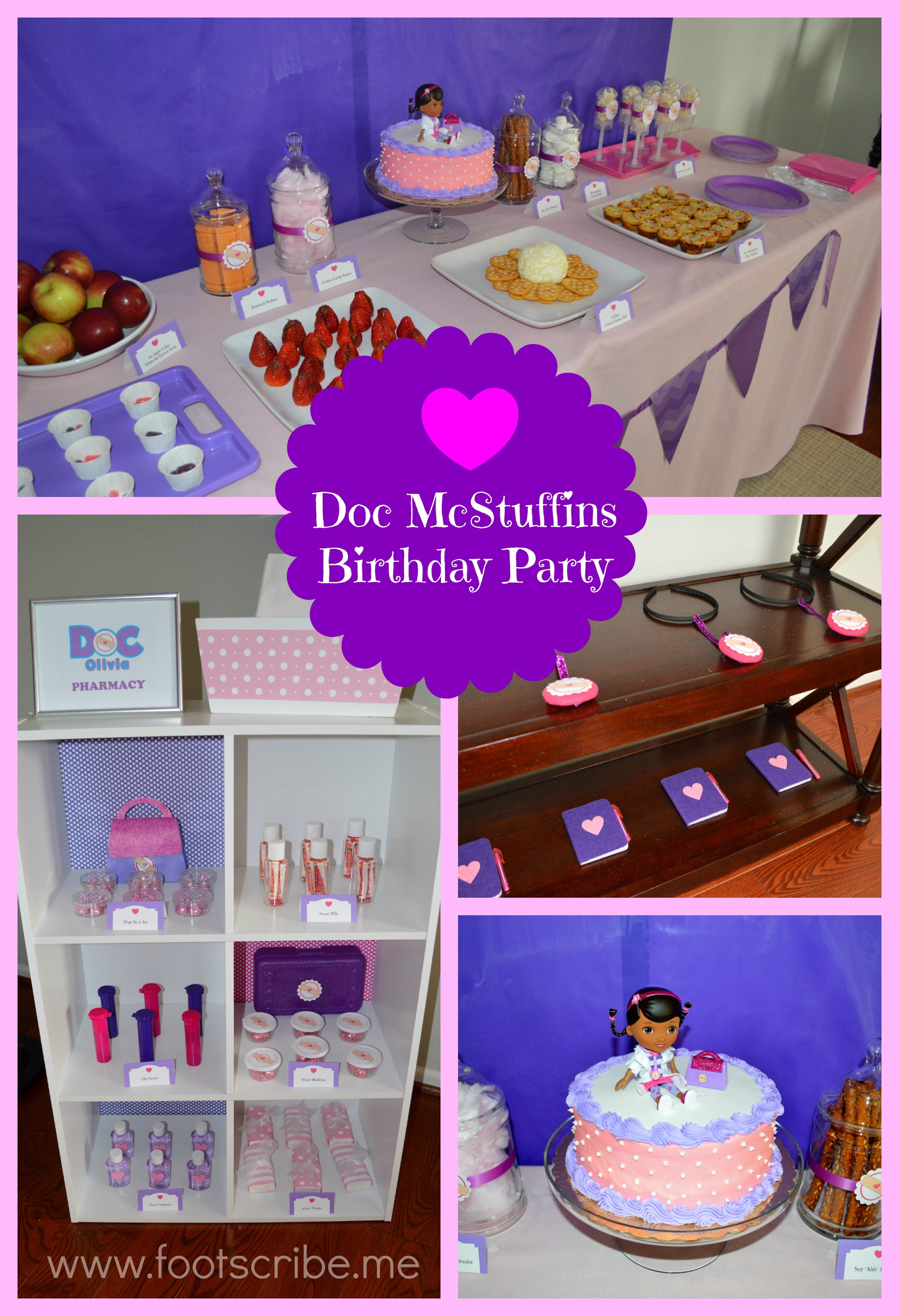 Best ideas about Doc Mcstuffins Birthday Party Ideas . Save or Pin My Daughter's Happy Healthy Doc McStuffins Birthday Party Now.