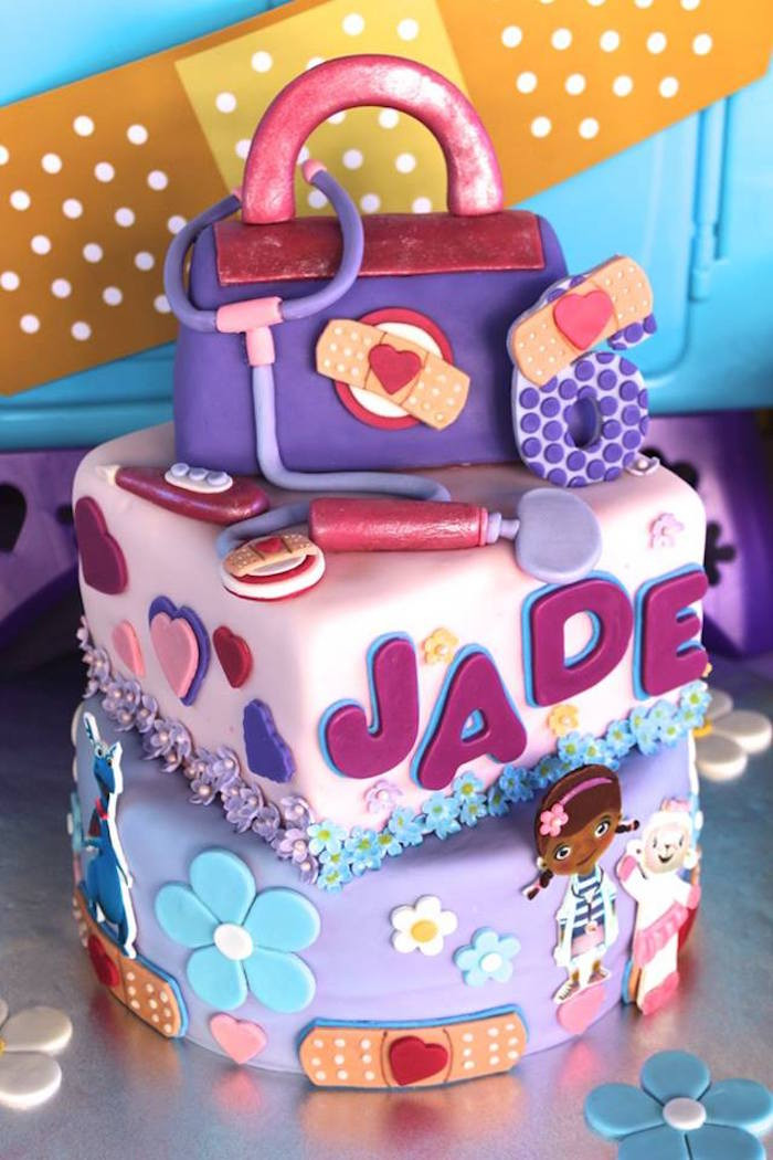Best ideas about Doc Mcstuffins Birthday Party Ideas . Save or Pin Kara s Party Ideas Doc McStuffins 6th Birthday Party Now.
