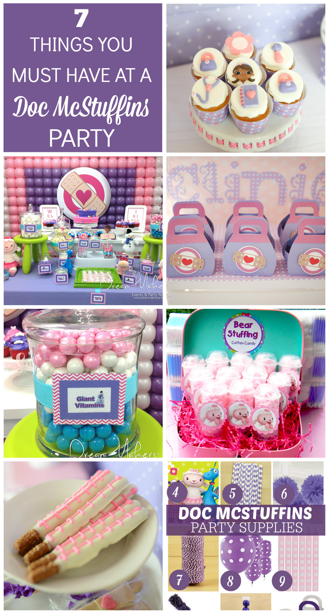 Best ideas about Doc Mcstuffins Birthday Party Ideas . Save or Pin 7 Things You Must Have at a Doc McStuffins Birthday Party Now.
