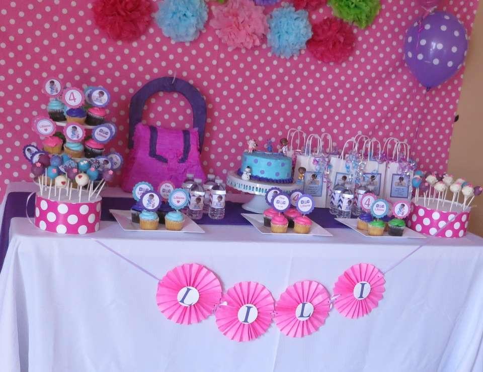 "Best ideas about Doc Mcstuffins Birthday Party Ideas . Save or Pin Doc McStuffins Birthday ""Doc Mcstuffins"" Now."