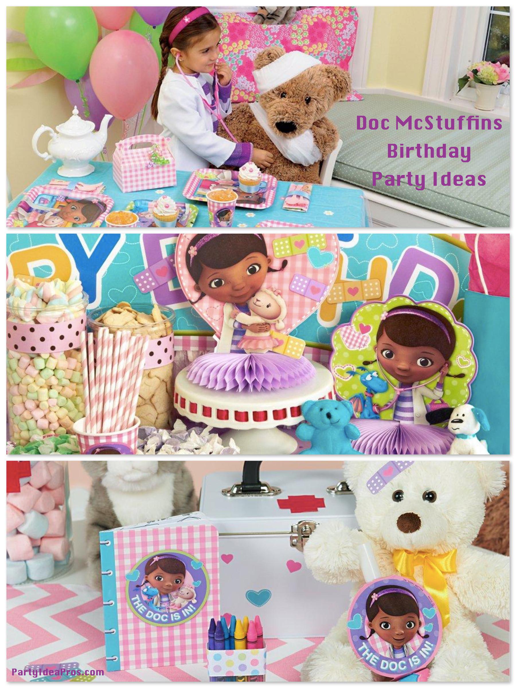 Best ideas about Doc Mcstuffins Birthday Party Ideas . Save or Pin Doc McStuffins Birthday Party Planning Ideas & Supplies Now.