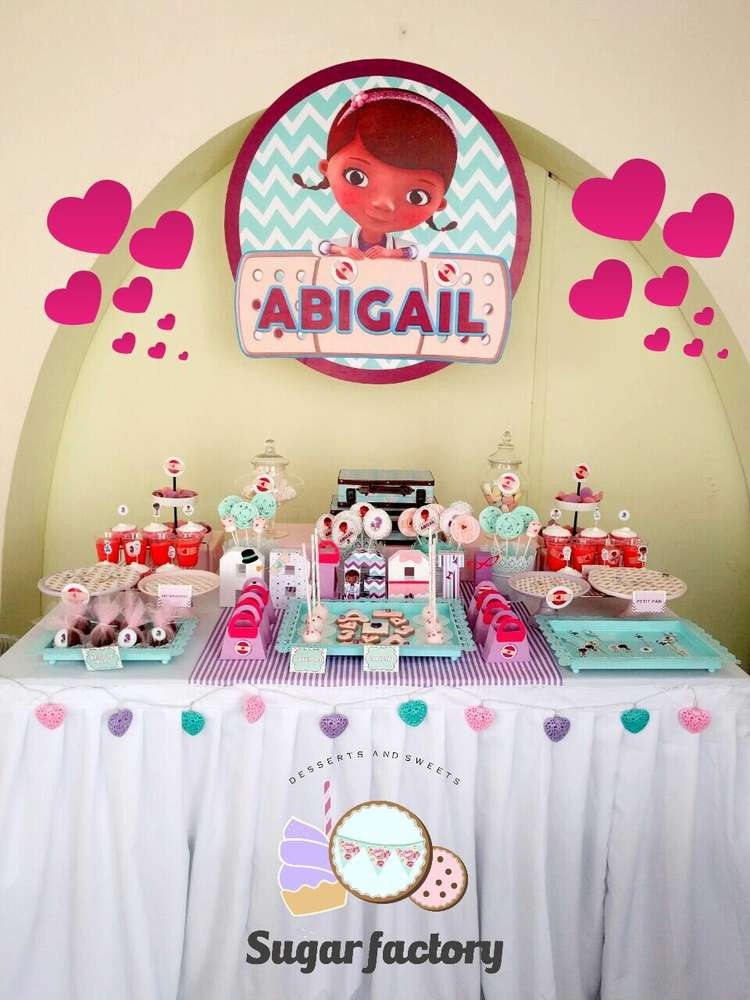 "Best ideas about Doc Mcstuffins Birthday Party Ideas . Save or Pin "" Doc Mcstuffins "" Birthday Party Ideas Now."