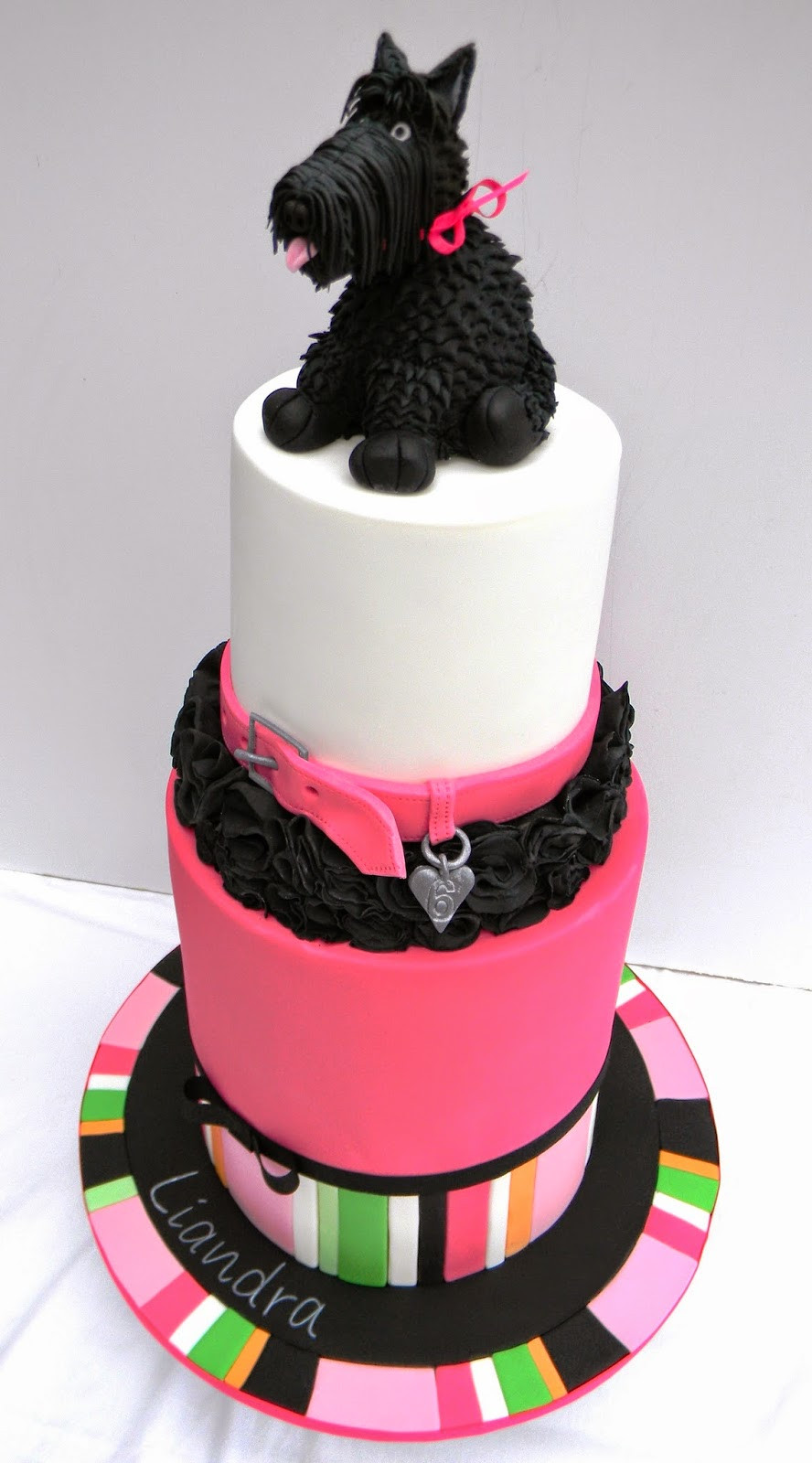 Best ideas about Dog Birthday Cake . Save or Pin Just call me Martha Scottie dog 6th birthday party Now.