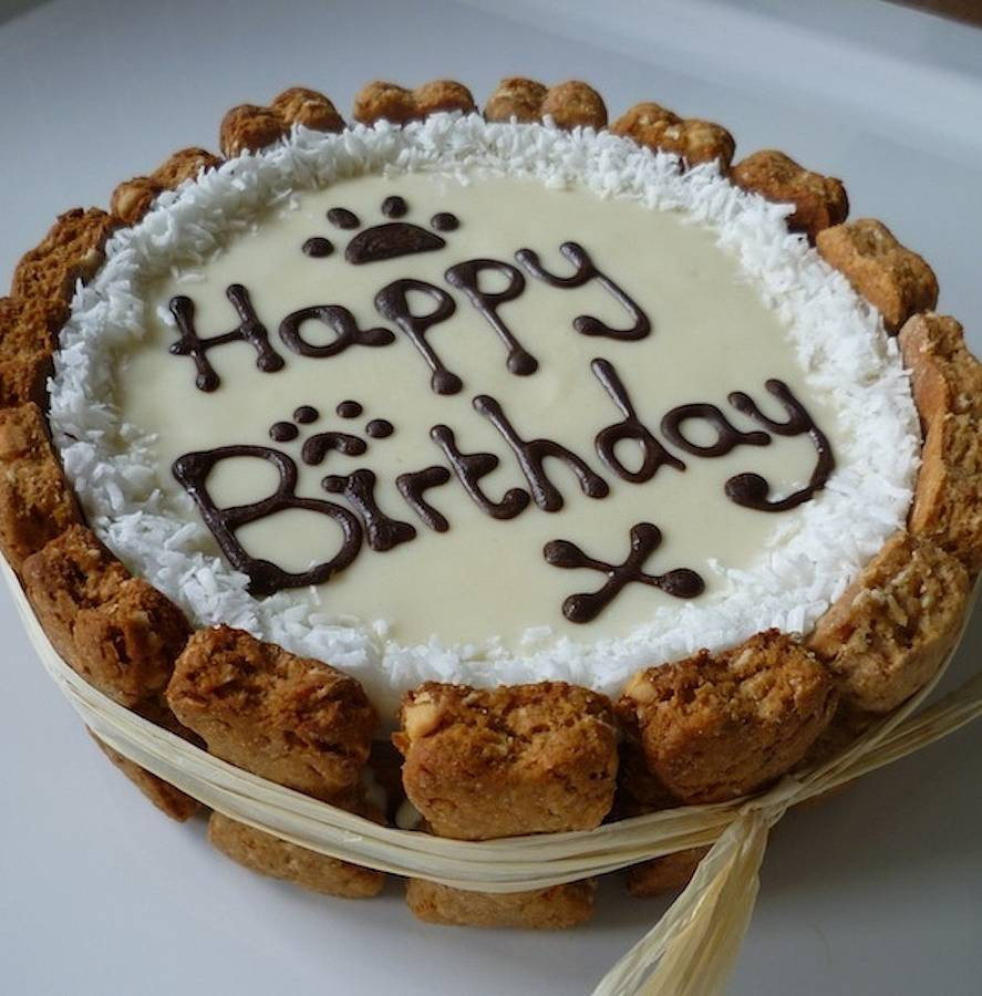Best ideas about Dog Birthday Cake . Save or Pin personalised dog birthday cake by doggie patisserie Now.