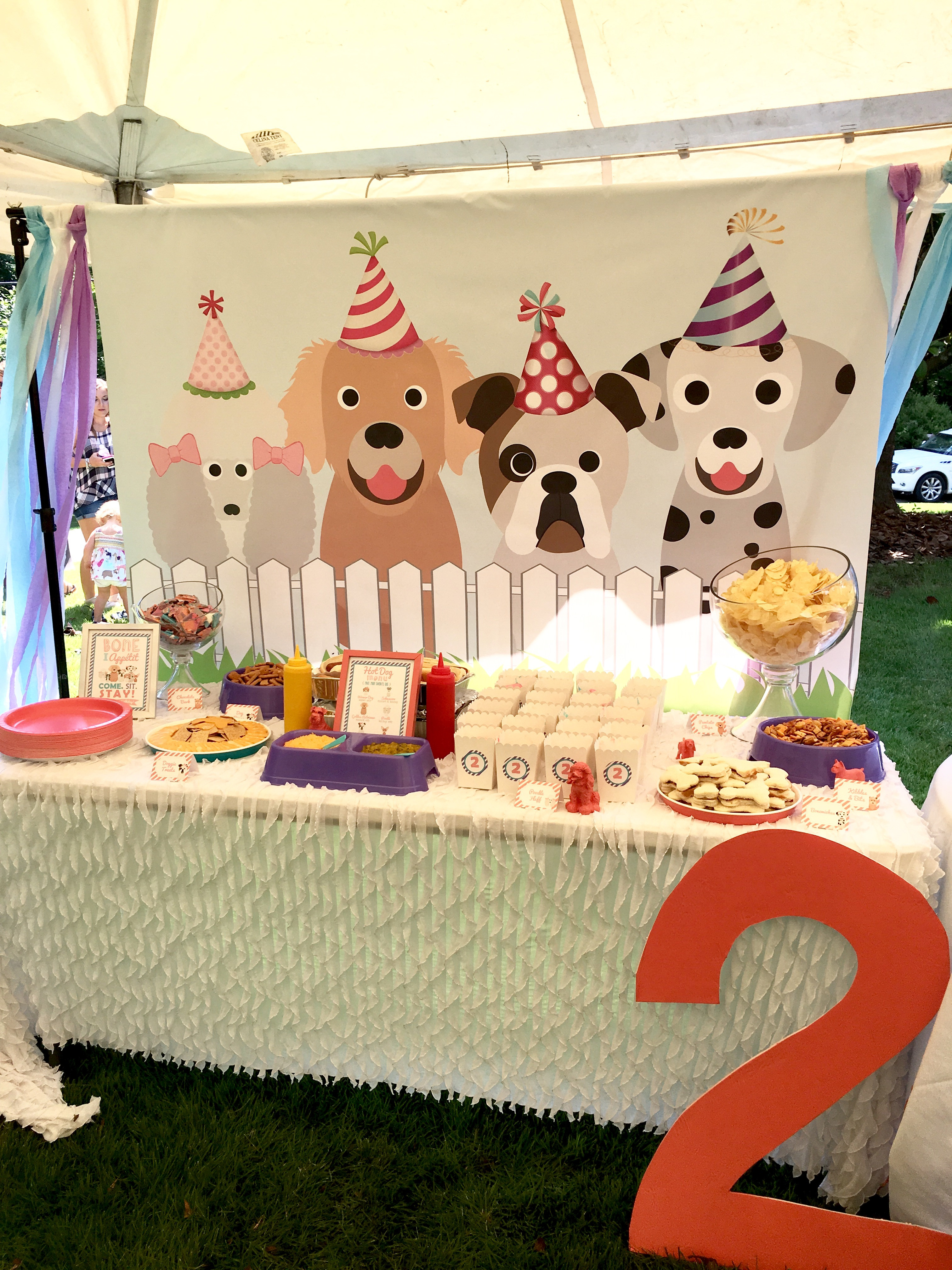 Best ideas about Dog Birthday Decorations . Save or Pin Carolyne s Puppy Party Project Nursery Now.