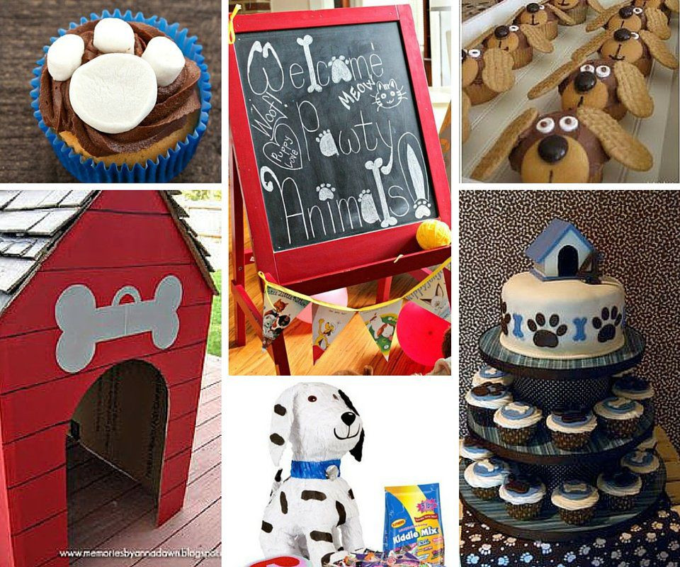 Best ideas about Dog Birthday Decorations . Save or Pin Dog Party Ideas Now.