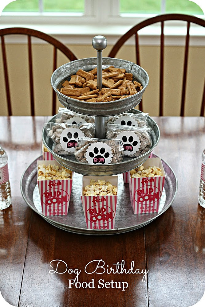 Best ideas about Dog Birthday Decorations . Save or Pin Keeping My Cents ¢¢¢ Dog Birthday Party Ideas Now.
