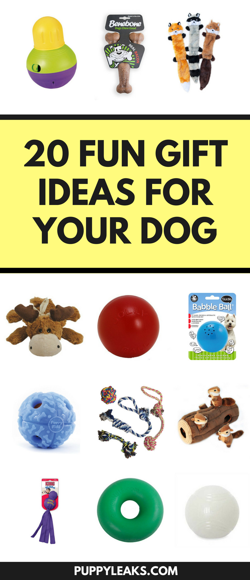 Best ideas about Dog Christmas Gift Ideas . Save or Pin 20 Fun Christmas Gift Ideas For Your Dog Puppy Leaks Now.